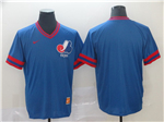 Montreal Expos Cooperstown Throwback Blue Team Jersey
