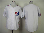 Montreal Expos White Throwback Team Jersey