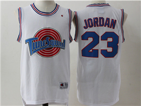 Space Jam Tune Squad #23 Michael Jordan White Movie Basketball Jersey