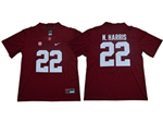 Alabama Crimson Tide #22 Najee Harris Red College Football Jersey