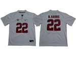 Alabama Crimson Tide #22 Najee Harris White College Football Jersey