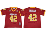 Arizona State Sun Devils #42 Pat Tillman Youth Red College Football Jersey