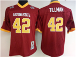 Arizona State Sun Devils #42 Pat Tillman Red College Football Jersey