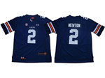 Auburn Tigers #2 Cameron Newton Navy College Football Jersey