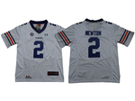 Auburn Tigers #2 Cameron Newton White College Football Jersey