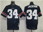 Auburn Tigers #34 Bo Jackson 1985 Navy College Football Jersey
