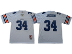 Auburn Tigers #34 Bo Jackson 1985 White College Football Jersey