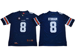 Auburn Tigers #8 Jarrett Stidham Navy College Football Jersey
