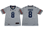 Auburn Tigers #8 Jarrett Stidham White College Football Jersey