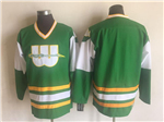 New England Whalers Vintage CCM Green Team Jersey