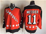 NHL 1984 All Star Game Team Campbell #11 Mark Messier CCM Vintage Jersey