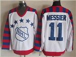 NHL 1992 All Star Game Wales #11 Mark Messier CCM Vintage Jersey