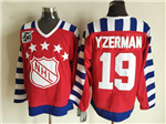 NHL 1992 All Star Game Campbell #19 Steve Yzerman CCM Vintage Jersey