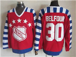 NHL 1992 All Star Game Campbell #30 Ed Belfour CCM Vintage Jersey