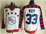 NHL 1992 All Star Game Wales #33 Patrick Roy CCM Vintage Jersey