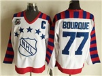 NHL 1992 All Star Game Wales #77 Ray Bourque CCM Vintage Jersey