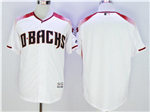 Arizona Diamondbacks White/Brick Flex Base Team Jersey