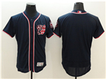 Washington Nationals Navy Blue Flex Base Jersey