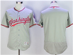 Washington Nationals Grey Flex Base Team Jersey