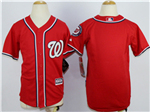 Washington Nationals Youth Red Cool Base Team Jersey