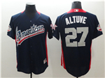 American League #27 José Altuve Navy 2018 MLB All Star Game Home Run Derby Jersey