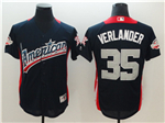 American League #35 Justin Verlander Navy 2018 MLB All Star Game Home Run Derby Jersey