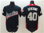 American League #40 Luis Severino Navy 2018 MLB All Star Game Home Run Derby Jersey