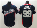 American League #99 Aaron Judge Navy 2018 MLB All Star Game Home Run Derby Jersey