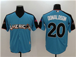 American League #20 Josh Donaldson Blue 2017 MLB All-Star Game Home Run Derby Jersey