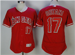 Los Angeles Angels #17 Shohei Ohtani Red Flex Base Jersey