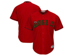Los Angeles Angels Red 2018 Memorial Day Cool Base Team Jersey