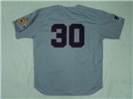 Atlanta Braves #30 Orlando Cepeda 1969 Throwback Gray Jersey