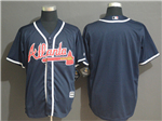 Atlanta Braves 2019 Alternate Navy Cool Base Team Jersey
