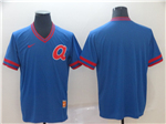 Atlanta Braves Blue Throwback Team Jersey