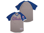 Atlanta Braves Gray Turn Back the Clock Team Jersey