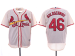 St. Louis Cardinals #46 Paul Goldschmidt Cream Cool Base Jersey