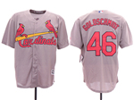 St. Louis Cardinals #46 Paul Goldschmidt Gray Cool Base Jersey