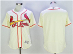 St. Louis Cardinals Cream Flex Base Team Jersey