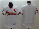 St. Louis Cardinals White Cooperstown Flex Base Team Jersey