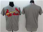 St. Louis Cardinals Grey Flex Base Team Jersey