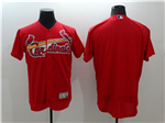 St. Louis Cardinals Red Flex Base Team Jersey