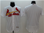 St. Louis Cardinals White Flex Base Team Jersey