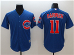 Chicago Cubs #11 Yu Darvish Blue Cool Base Jersey