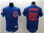 Chicago Cubs #22 Jason Heyward Blue Flex Base Jersey