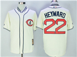 Chicago Cubs #22 Jason Heyward Cream 1929 Turn Back The Clock Cool Base Jersey
