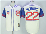 Chicago Cubs #22 Jason Heyward Cream 1942 Turn Back The Clock Cool Base Jersey