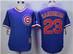 Chicago Cubs #23 Ryne Sandberg Blue Cooperstown Collection Cool Base Jersey