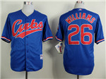 Chicago Cubs #26 Billy Williams Blue 1994 Turn Back The Clock Jersey
