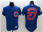 Chicago Cubs #27 Addison Russell Blue Flex Base Jersey