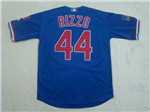 Chicago Cubs #44 Anthony Rizzo Blue 1994 Turn Back The Clock Jersey
